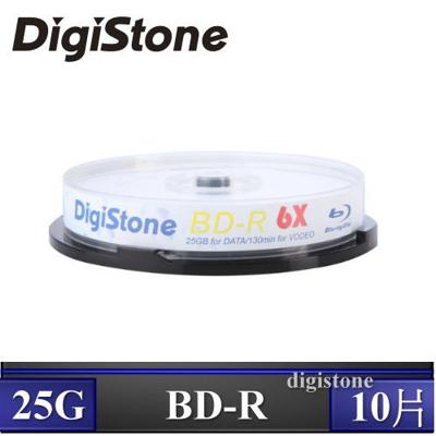 DigiStone 國際版 A+ 藍光 Blu-ray 6X BD-R 25GB(支援CPRM/BS) x10PCS