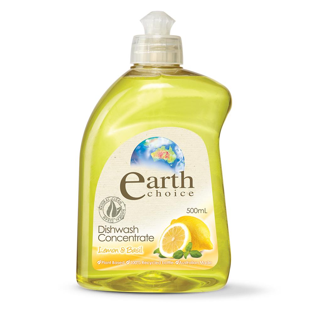 【澳洲Natures Organics】天然植粹濃縮洗碗精(檸檬羅勒)500ml