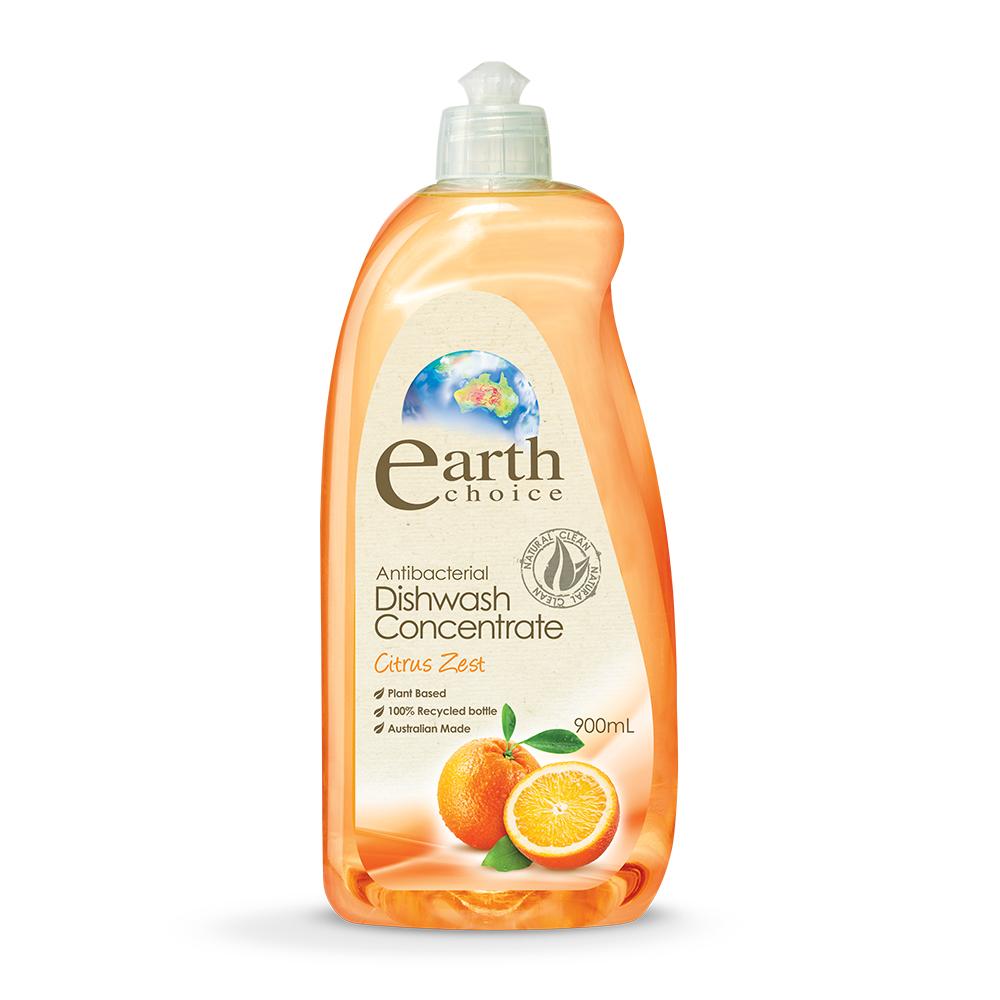 【澳洲Natures Organics】天然植粹濃縮洗碗精(柑橘)900ml