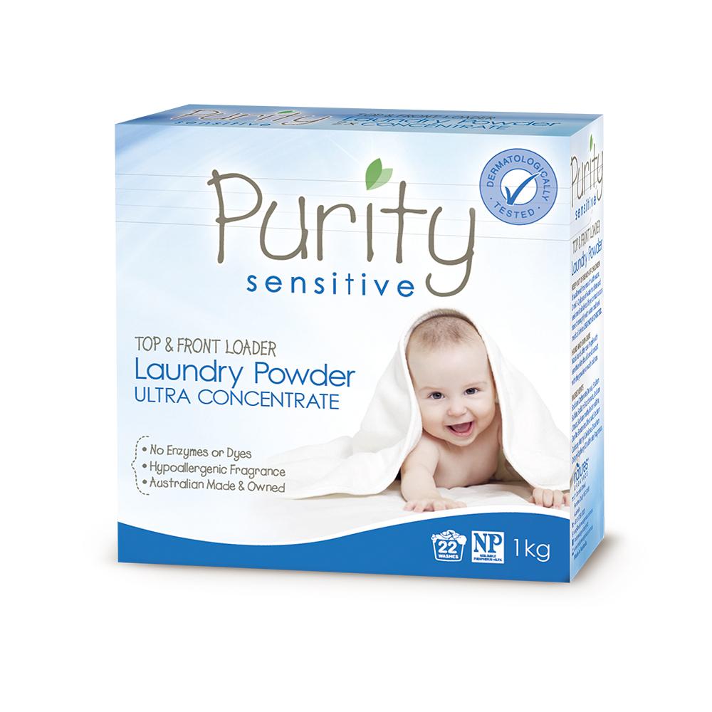【澳洲Natures Organics】天然植粹嬰幼兒洗衣粉(低敏)1kg