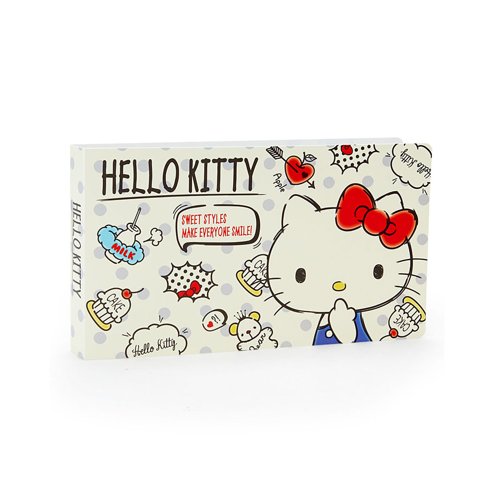 《Sanrio》HELLO KITTY PP票券收集/收納本(手繪趣味小物)