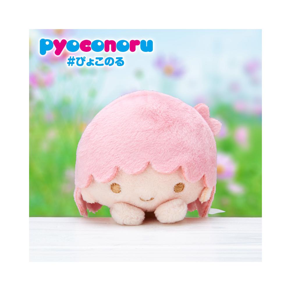 《Sanrio》雙星仙子 pyoconoru 可愛大頭處處趴玩偶(LALA)
