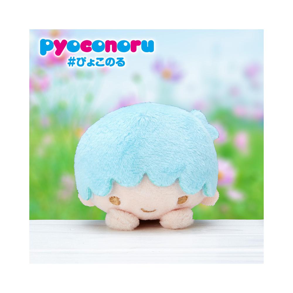 《Sanrio》雙星仙子 pyoconoru 可愛大頭處處趴玩偶(KIKI)