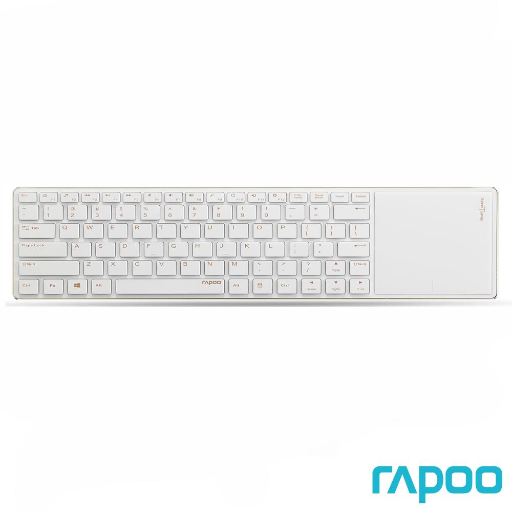 Rapoo 雷柏 E6700 藍牙超薄觸控式鍵盤金