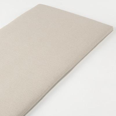 [MUJI無印良品]有機棉天竺墊被套/D雙人/混米