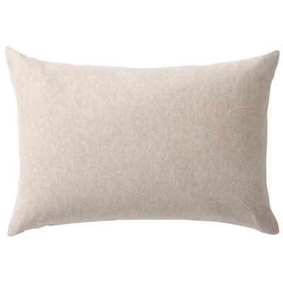 [MUJI無印良品]有機棉天竺枕套/43/混米