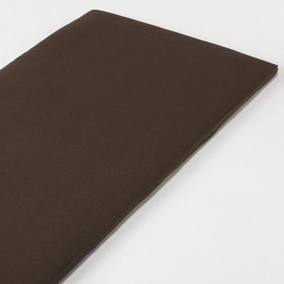 [MUJI無印良品]有機棉天竺墊被套/S單人/混棕