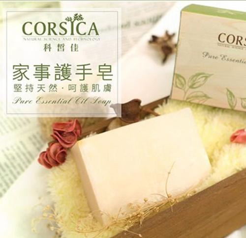 【CORSICA 科皙佳】家事護手皂六入組