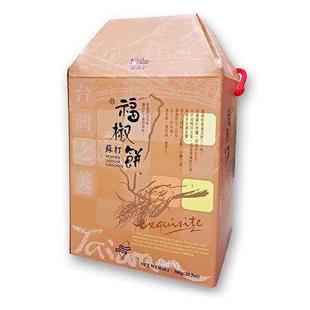 【福義軒】福椒蘇打禮盒