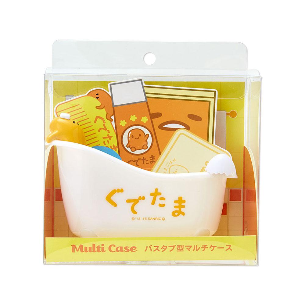 《Sanrio》蛋黃哥療癒浴缸造型多功能塑膠置物盤