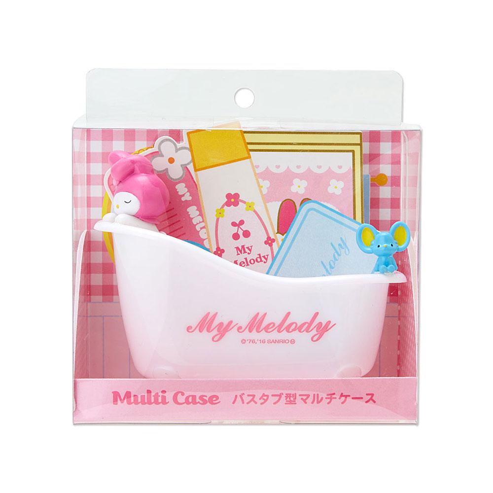 《Sanrio》美樂蒂療癒浴缸造型多功能塑膠置物盤