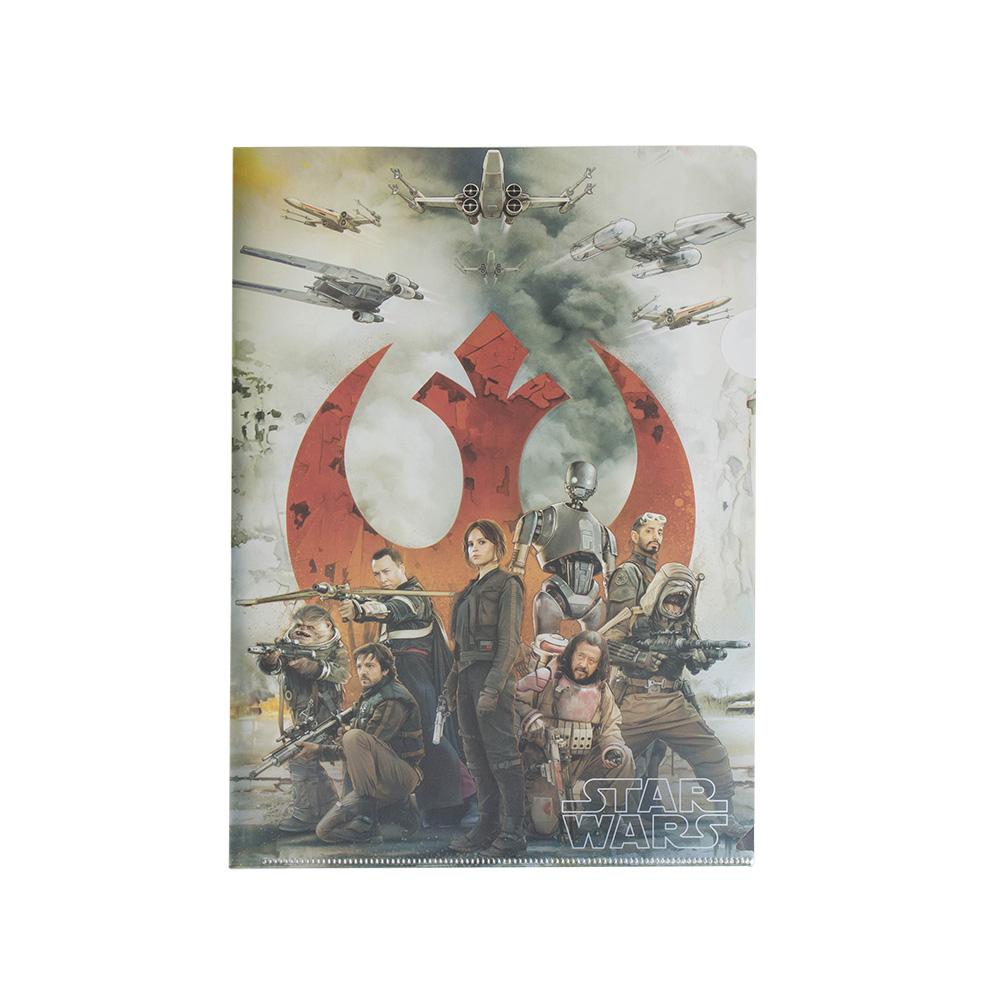 《sun-star》星際大戰外傳:俠盜一號系列未來金屬質感A4文件夾(海報)