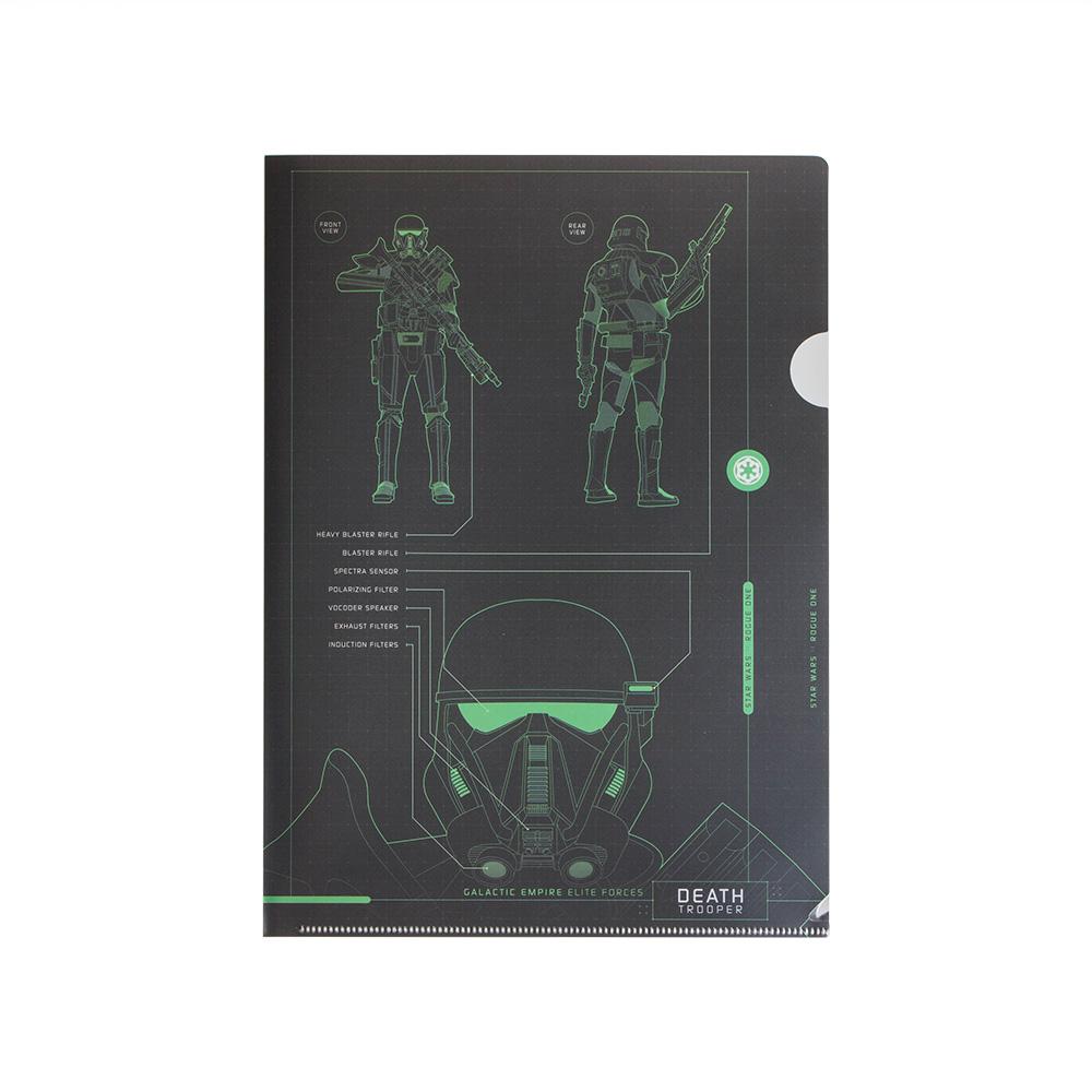 《sun-star》星際大戰外傳:俠盜一號系列未來金屬質感A4文件夾(死兵)