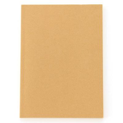 [MUJI無印良品]再生紙書型筆記本/薄型.50頁
