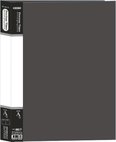 【檔案家】金時代雙上強力夾-黑 加高 / 加寬辦公色系