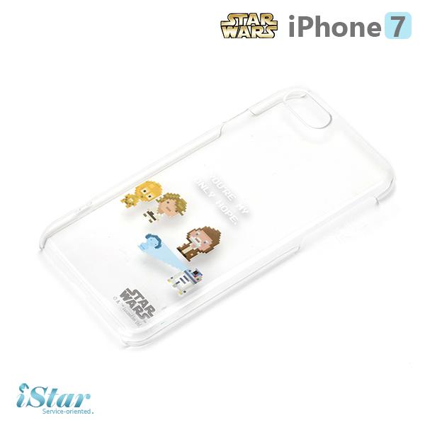 【日本 PGA-iJacket】iPhone 7 星際大戰STARWARS 透明塗鴉硬殼系列-C-3PO