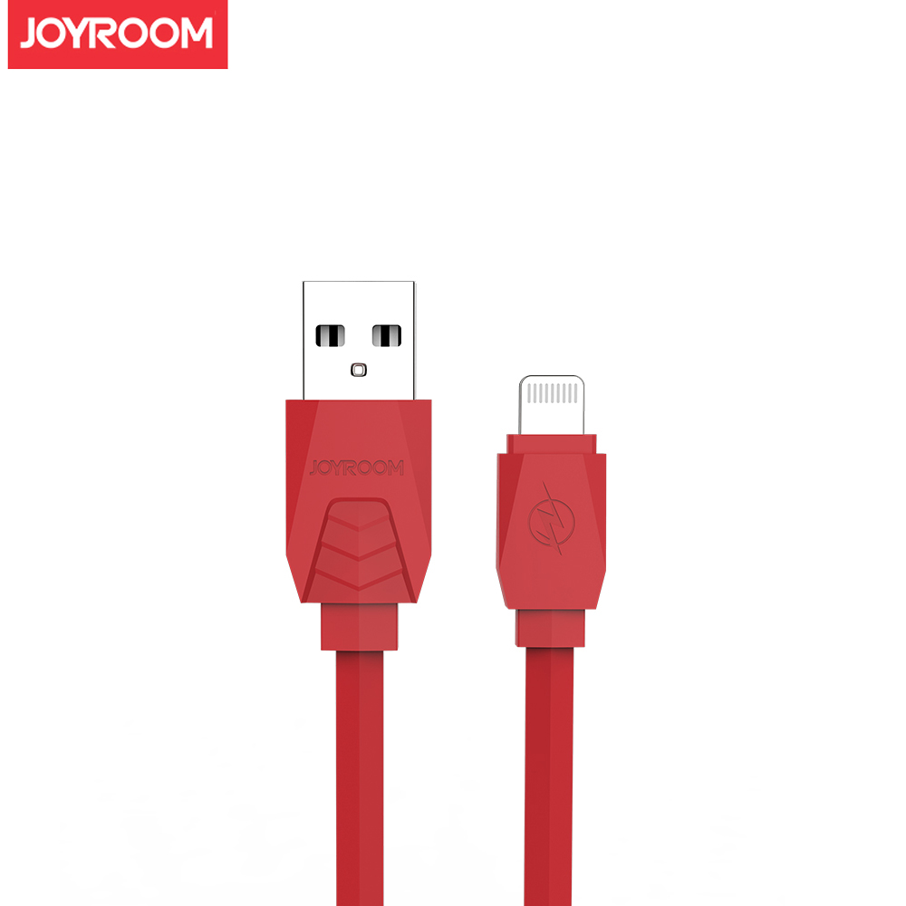 JOYROOM Lightning 超跑系列數據傳輸充電線1.2米(JR-S117)紅色