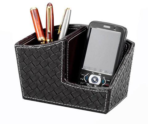SMP-326 波德徠爾皮質手機&筆具收納盒