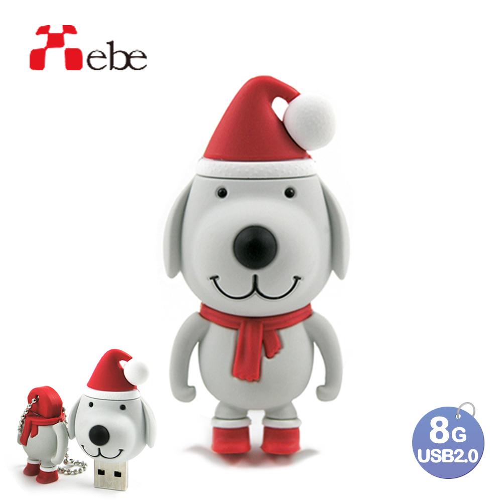 Xebe集比 聖誕狗usb隨身碟 8GB, USB 2.0