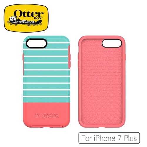 OtterBox  iPhone 7 Plus炫彩塗鴉系列保護殼-水彩薄荷54024
