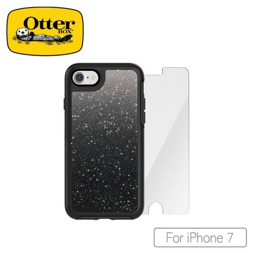 OtterBox iPhone 7施華洛世奇水鑽系列保護殼-暗夜黑51172