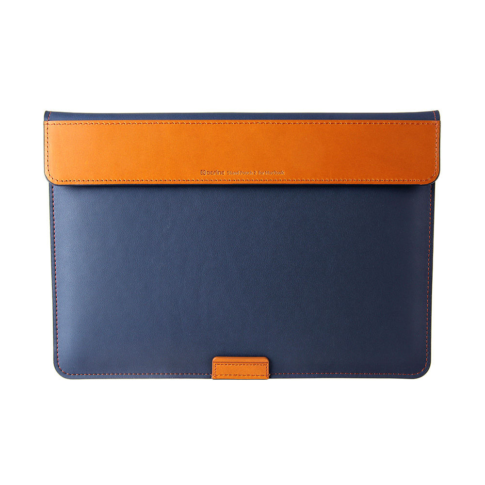 BEFINE Stand Pouch II MacBook Pro 13 (2016)專用收納電腦保護包 - 藍