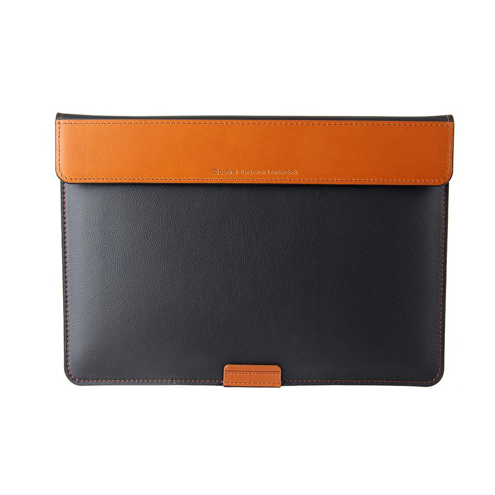 BEFINE Stand Pouch II MacBook Pro 13 (2016)專用收納電腦保護包 - 黑