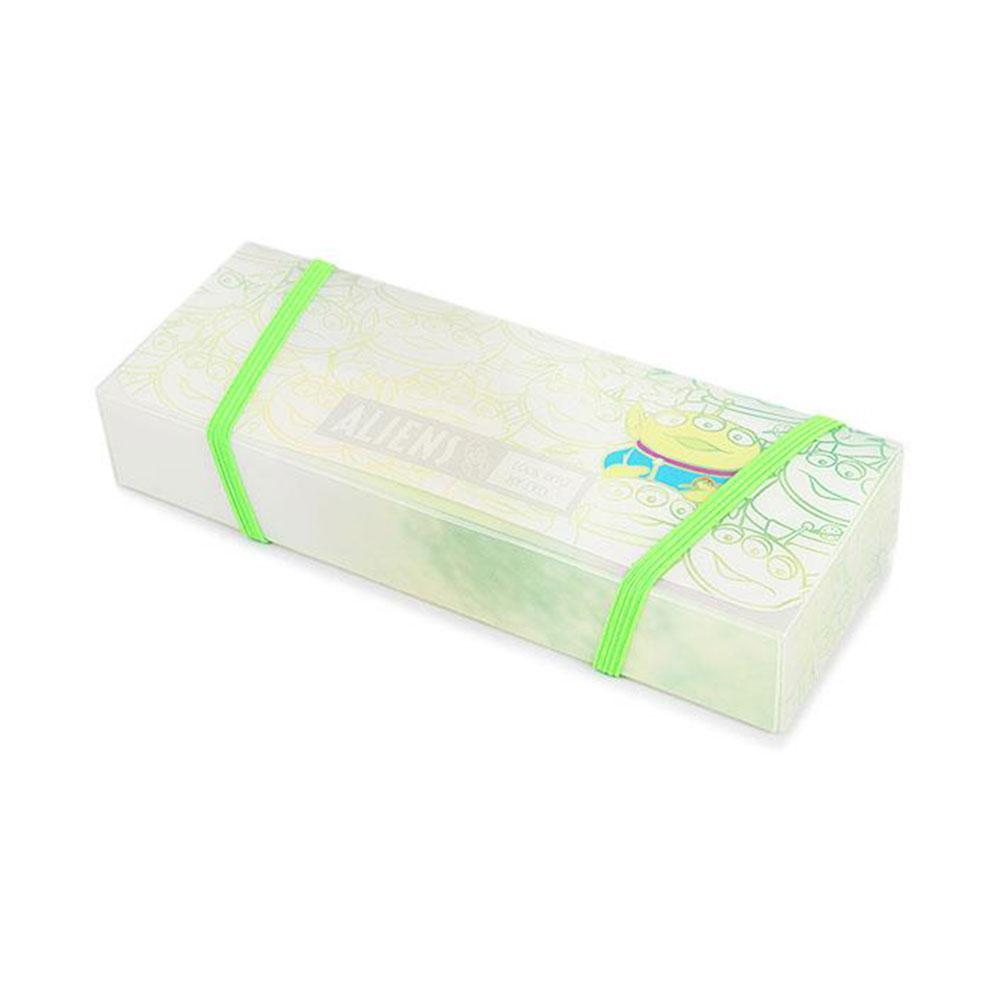 《sun-star》玩具總動員PURE& 幻彩純粹系列透明感PP筆盒(三眼怪)