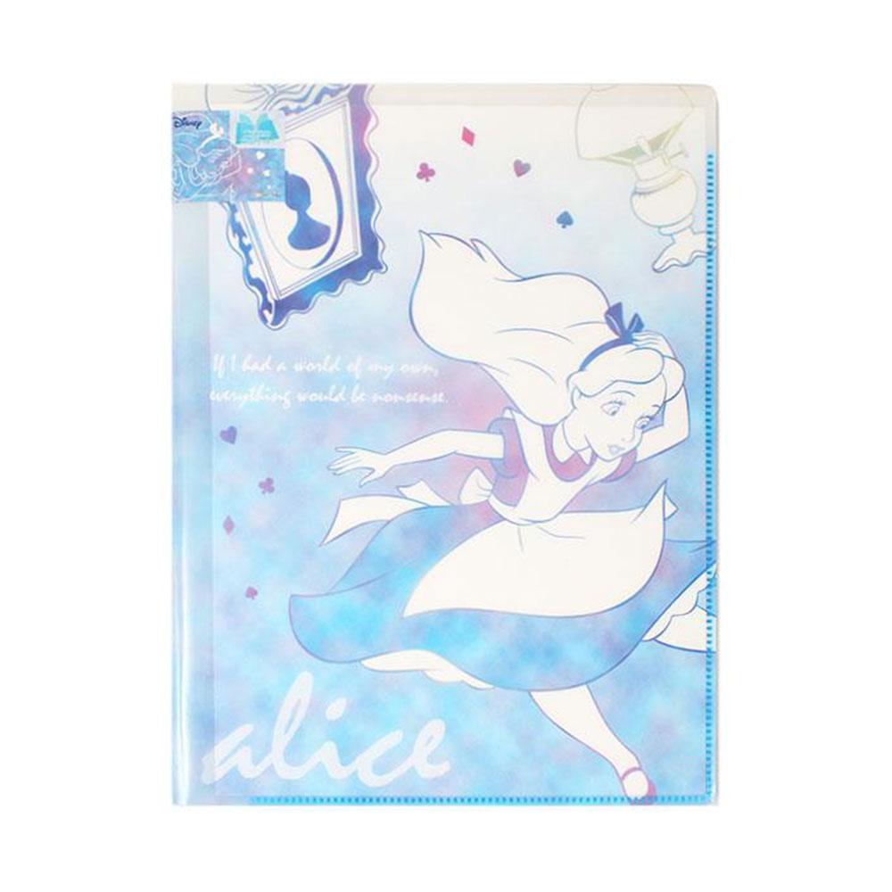《sun-star》迪士尼公主PURE& 幻彩純粹系列10層檔案資料夾(愛麗絲)