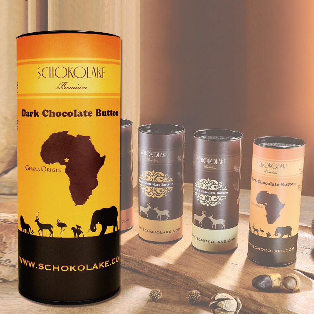 【巧克力雲莊】65%迦納原產黑巧克力原豆