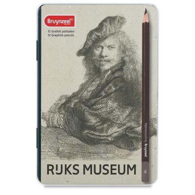 阿姆斯特丹國家博物館& Bruynzeel 聯名-素描鉛筆12色林布蘭自畫像