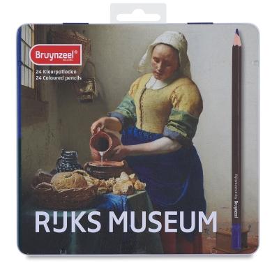阿姆斯特丹國家博物館& Bruynzeel 聯名-油性色鉛24色倒牛奶的女僕