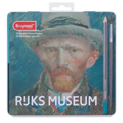 阿姆斯特丹國家博物館& Bruynzeel 聯名-水性色鉛24色梵谷自畫像
