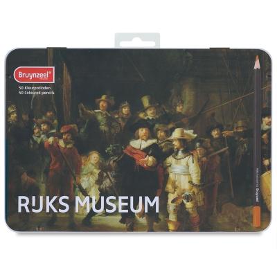 阿姆斯特丹國家博物館& Bruynzeel 聯名-油性色鉛50色夜巡