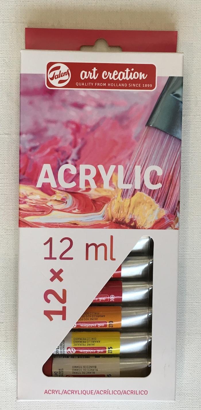 Art creation 壓克力12ml12色-荷蘭製