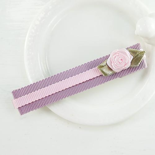 【PinkyPinky Boutique】甜美維多利亞風鴨嘴長夾 (紫羅蘭)