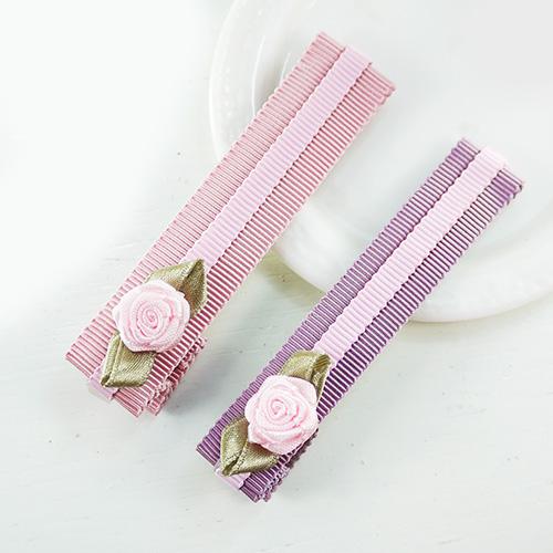 【PinkyPinky Boutique】甜美維多利亞風鴨嘴長夾 (2色組)