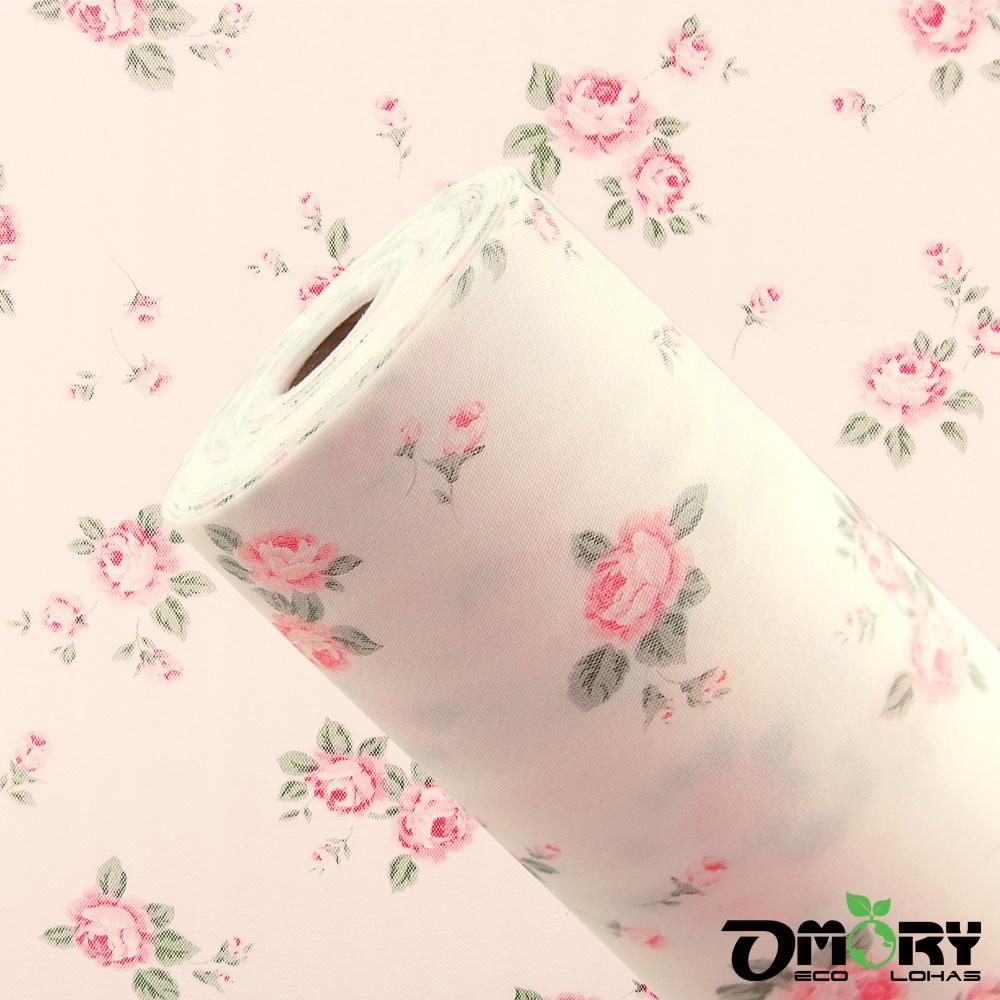 【OMORY】防蟲防塵食器棚/舖墊30cmx500cm-2入(六款任選)-古典玫瑰