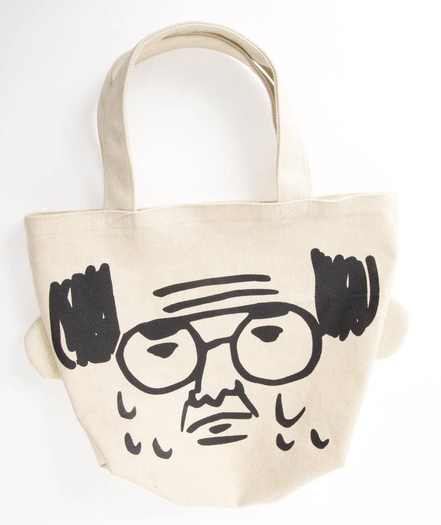 【日本JIG】療癒系老頭提袋(收納/便當袋)