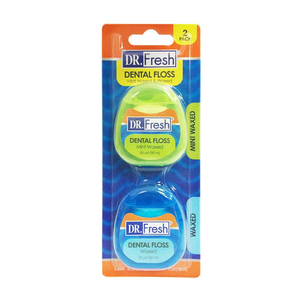 【美國Dr. Fresh】潔牙線50M(2入)