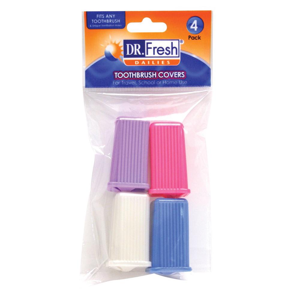【美國Dr. Fresh】4入牙刷套