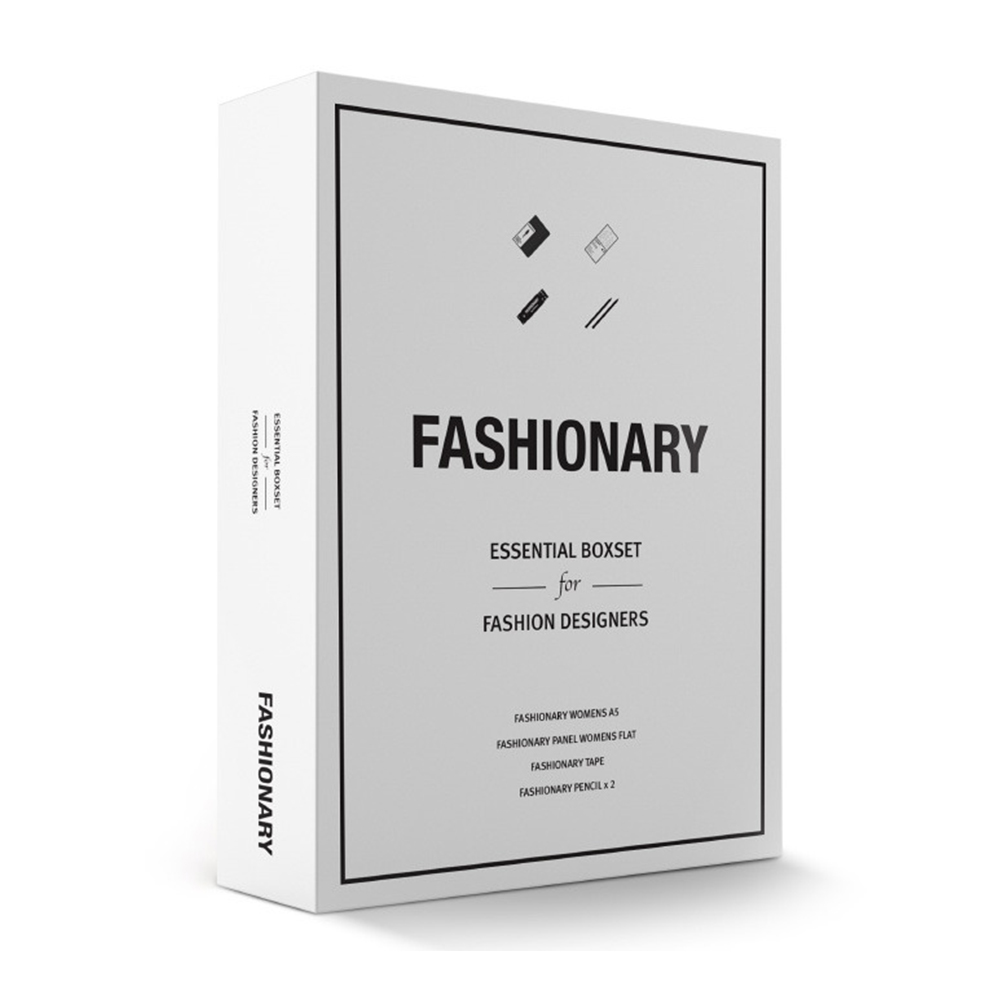 FASHIONARY  Book&Tool 限定禮盒組