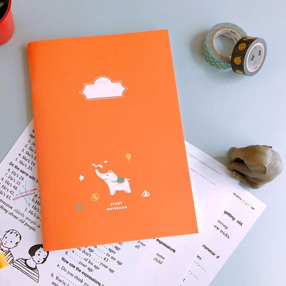 迪夢奇-Debug 學習本-彩色款-大象