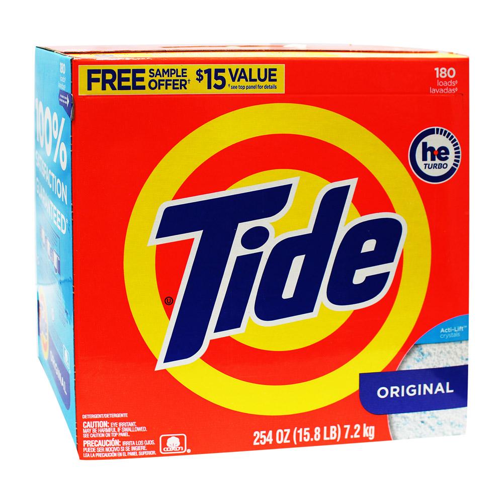 【美國進口 Tide】洗衣粉 7.2kg/254oz (滾筒洗衣機適用)