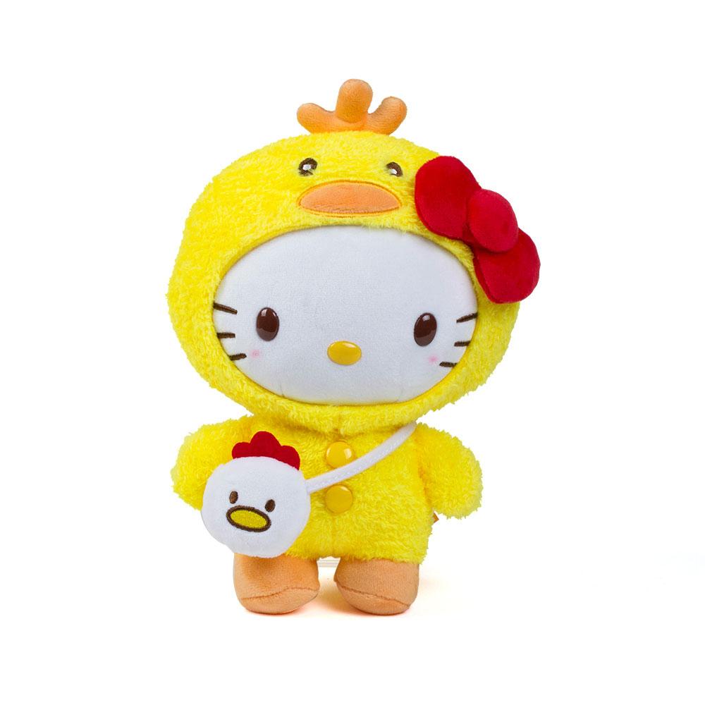 《Sanrio》HELLO KITTY變裝小雞系列8吋絨毛娃娃