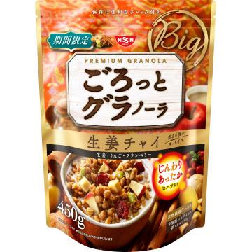 【日清】 早餐燕麥片-薑汁牛奶果實-450g