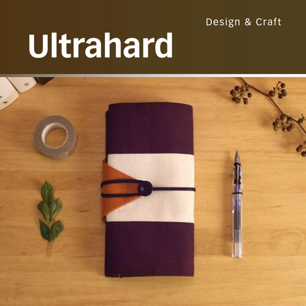 ultrahard 作家筆袋系列- 太宰治/小說燈籠(紫橘)