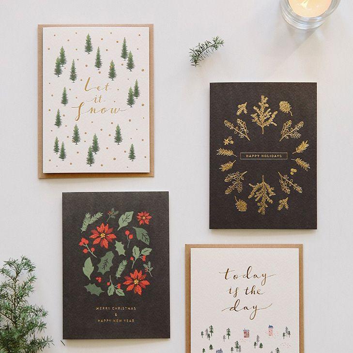 Dailylike 森林物語卡片信封組~05 冬之樹