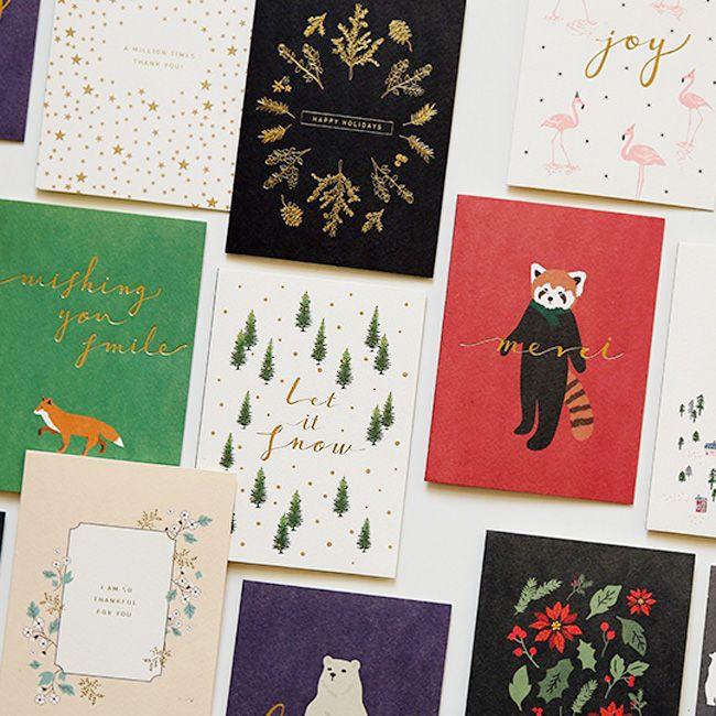 Dailylike 森林物語卡片信封組~09 針葉樹林