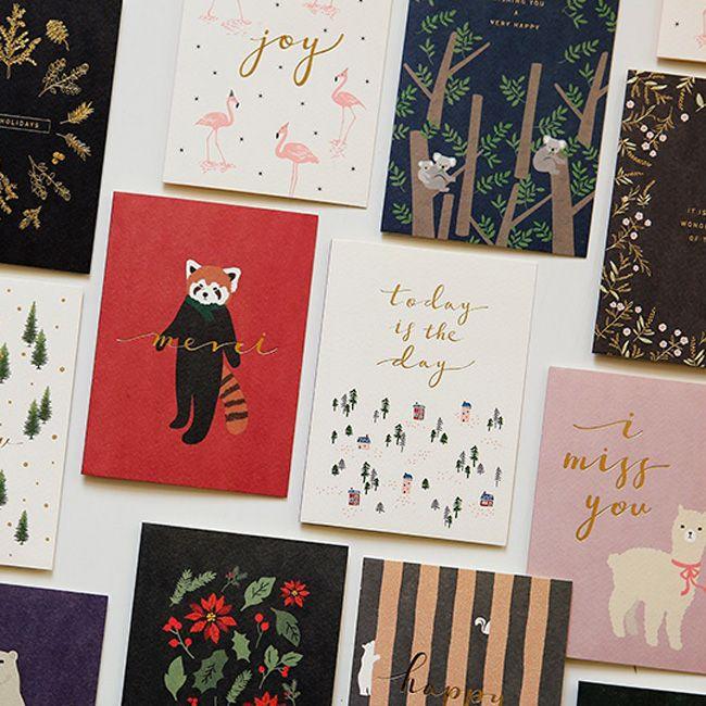 Dailylike 森林物語卡片信封組~10 森林小屋